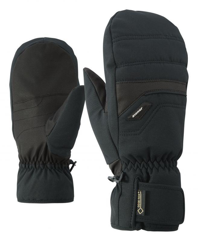 ZIENER GLYNDAL GTX + Gore PLUS WARM MITTEN lyžařské rukavice black 20/21