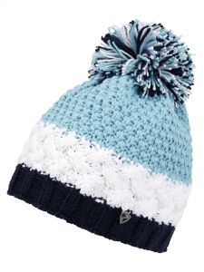 ZIENER ISSOGI HAT winter blue čepice