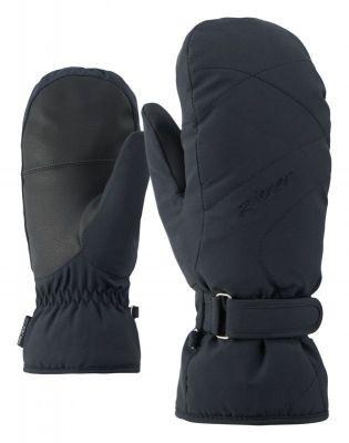 ZIENER KADDYLA MITTEN LADY dámské lyžařské rukavice black