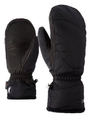 ZIENER KALI AS® MITTEN LADY dámské lyžařské rukavice black