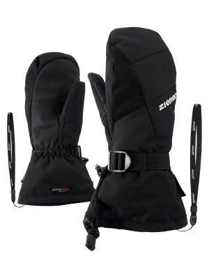 ZIENER LANIC GTX + Gore PLUS WARM MITTEN dětské lyžařské rukavice black