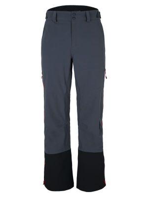 ZIENER NIRON MAN pánské nepromokavé kalhoty grey ink