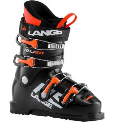LANGE RSJ 60 dětské sjezdové boty black/orange fluo 20/21