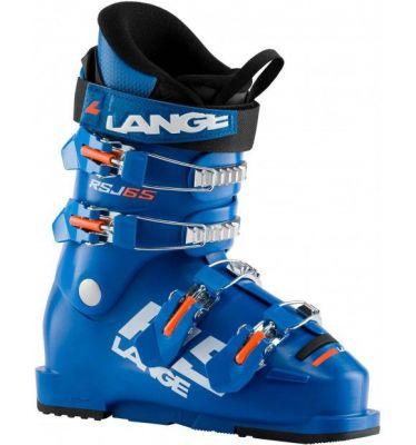 LANGE RSJ 65 dětské sjezdové boty power blue