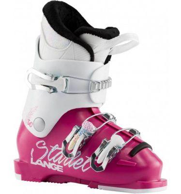 LANGE STARLET 50 dětské sjezdové boty magenta Sparkle wh