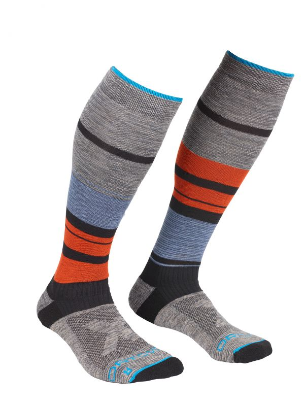 ORTOVOX ALL MOUNTAIN LONG SOCKS WARM M multicolor ponožky 20/21
