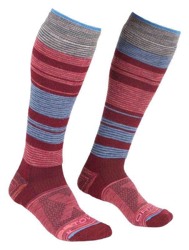 ORTOVOX ALL MOUNTAIN LONG SOCKS WARM W multicolor dámské ponožky