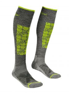 ORTOVOX SKI COMPRESSION SOCKS M ponožky grey blend