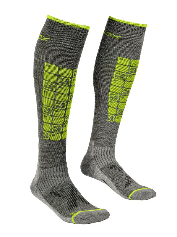 ORTOVOX SKI COMPRESSION SOCKS M grey blend ponožky 20/21