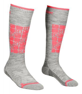 ORTOVOX SKI COMPRESSION SOCKS W dámské ponožky grey blend