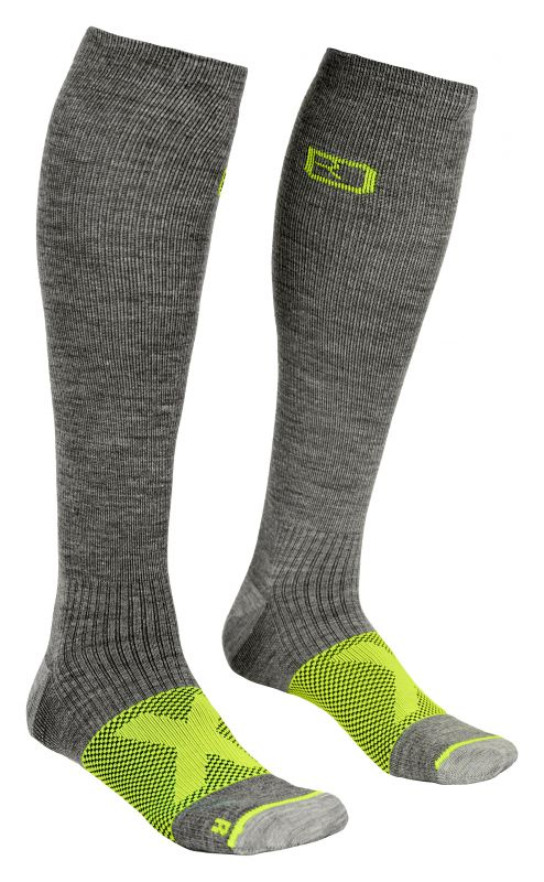 ORTOVOX TOUR COMPRESSION SOCKS M grey blend ponožky 20/21