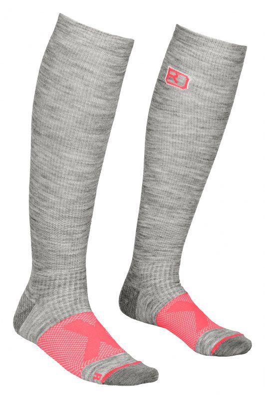 ORTOVOX TOUR COMPRESSION SOCKS W grey blend dámské ponožky