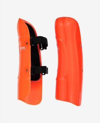 POC SHINS CLASSIC JR dětský chránič holení fluorescent orange