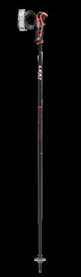 LEKI AIRFOIL 3D sjezdové hole black-fluorescent red-white 20/21 | 110 cm, 115 cm, 120 cm, 125 cm, 130 cm, 135 cm