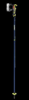 LEKI CARBON 14 3D sjezdové hole bluemetallic-neonyellow-white