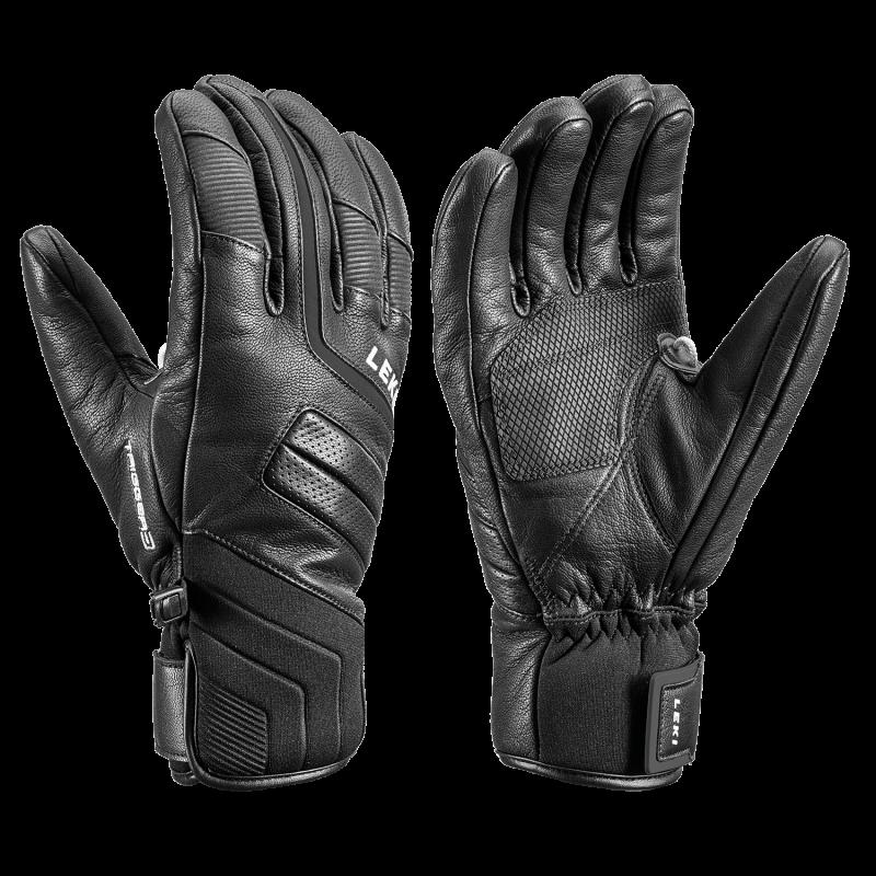 LEKI PHOENIX 3D lyžařské rukavice black 20/21