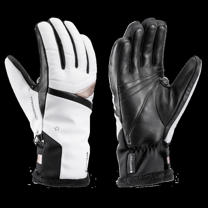 LEKI SNOWFOX 3D LADY dámské lyžařské rukavice black 20/21