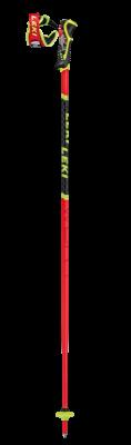 LEKI WCR TBS SL 3D sjezdové hole fluorescent red-black-neonyellow 20/21 | 115 cm, 120 cm, 125 cm, 130 cm
