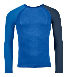 ORTOVOX 120 COMP LIGHT LONG SLEEVE M just blue pánské tričko