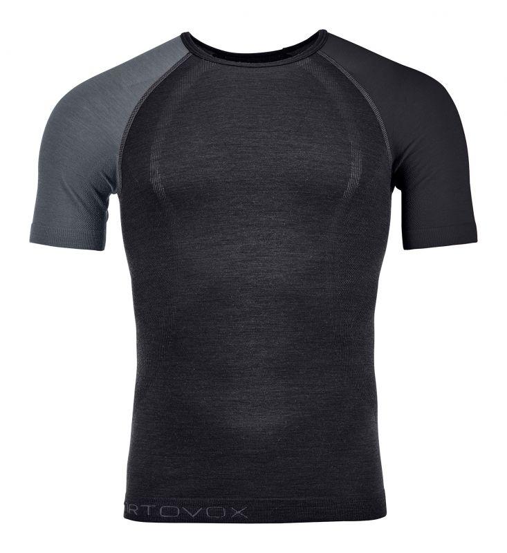 ORTOVOX 120 COMP LIGHT SHORT SLEEVE M pánské tričko black raven 20/21