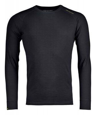 ORTOVOX 145 ULTRA LONG SLEEVE M black raven pánské tričko