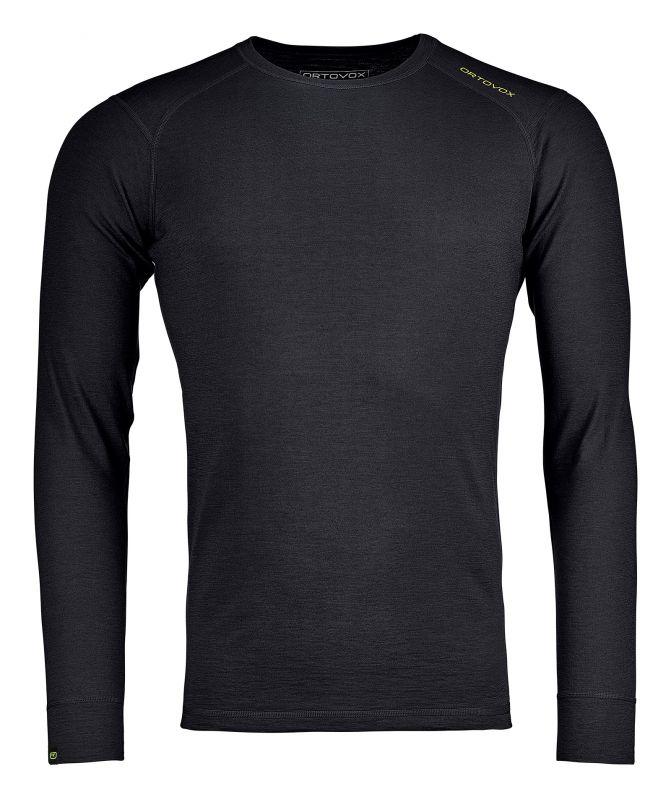 ORTOVOX 145 ULTRA LONG SLEEVE M pánské tričko black raven 20/21