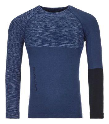 ORTOVOX 230 COMPETITION LONG SLEEVE M pánské tričko night blue blend 20/21 | S, M, L, XL