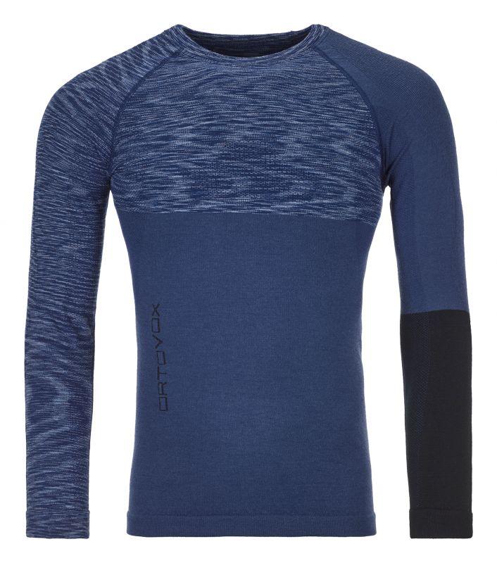 ORTOVOX 230 COMPETITION LONG SLEEVE M pánské tričko night blue blend 20/21