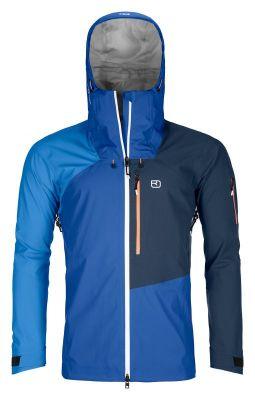 ORTOVOX 3L ORTLER JACKET M just blue pánská skialpová bunda