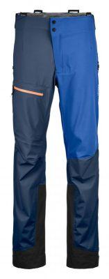 ORTOVOX 3L ORTLER PANTS M blue lake pánské nepromokavé kalhoty
