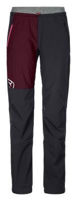 ORTOVOX BERRINO PANTS W dámské skialpové kalhoty black raven 20/21 | L, XL