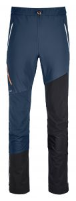 ORTOVOX COL BECCHEI PANTS M blue lake pánské skialpové kalhoty