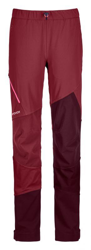 ORTOVOX COL BECCHEI PANTS W dámské skialpové kalhoty dark blood 20/21