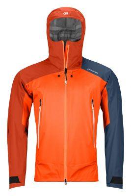 ORTOVOX WESTALPEN 3L LIGHT JACKET M burning orange pánská skialpová bunda