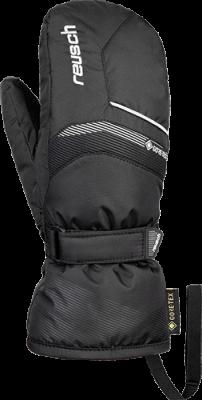 REUSCH BOLT GTX Junior Mitten dětské lyžařské rukavice black/white