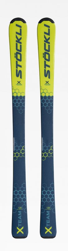 STÖCKLI X TEAM + Salomon L6 J70 dětské sjezdové lyže set 20/21 Stöckli
