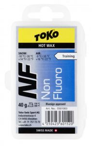 TOKO NF HOT WAX BLUE bezfluorový vosk 120 g