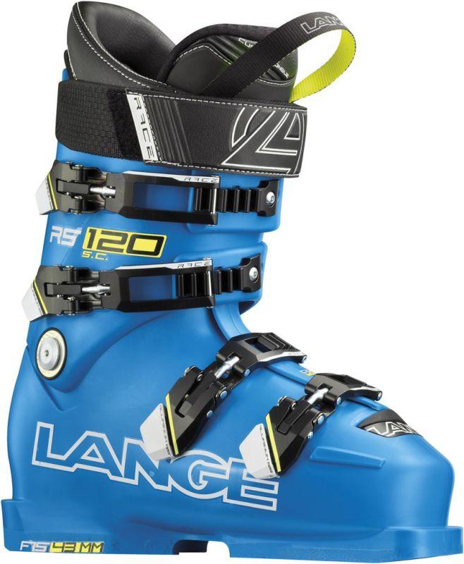 LANGE RS 120 S.C. sjezdové boty power blue 15/16