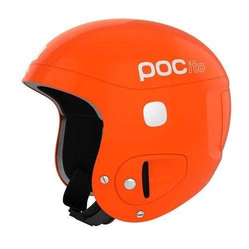 POC POCito SKULL lyžařská helma fluorescent orange 19/20