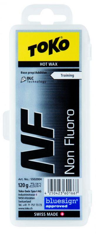 TOKO NF HOT WAX BLACK bezfluorový vosk 120 g