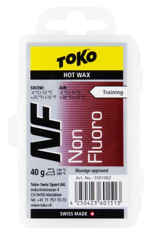 TOKO NF HOT WAX RED bezfluorový vosk 40 g