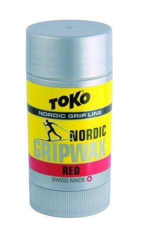 TOKO NORDIC GRIPWAX RED 5508752 vosk 27 g