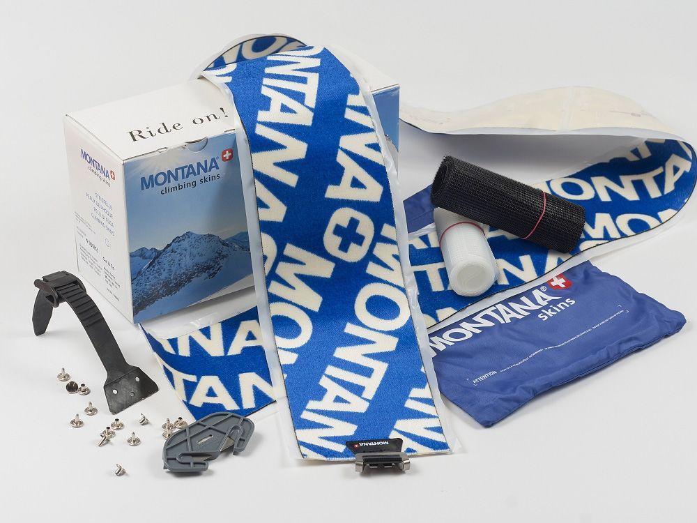 MONTANA MONTANYL 130 mm SKI CLAMP skialpové pásy