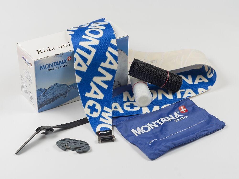 MONTANA MONTANYL 140 mm SKI CLAMP skialpové pásy