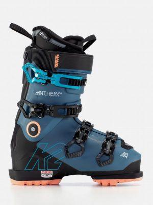 K2 ANTHEM 100 MV HEAT GRIPWALK dámské vyhřívané sjezdové boty blue/black/coral