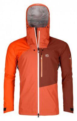 ORTOVOX 3L ORTLER JACKET M desert orange pánská skialpová bunda