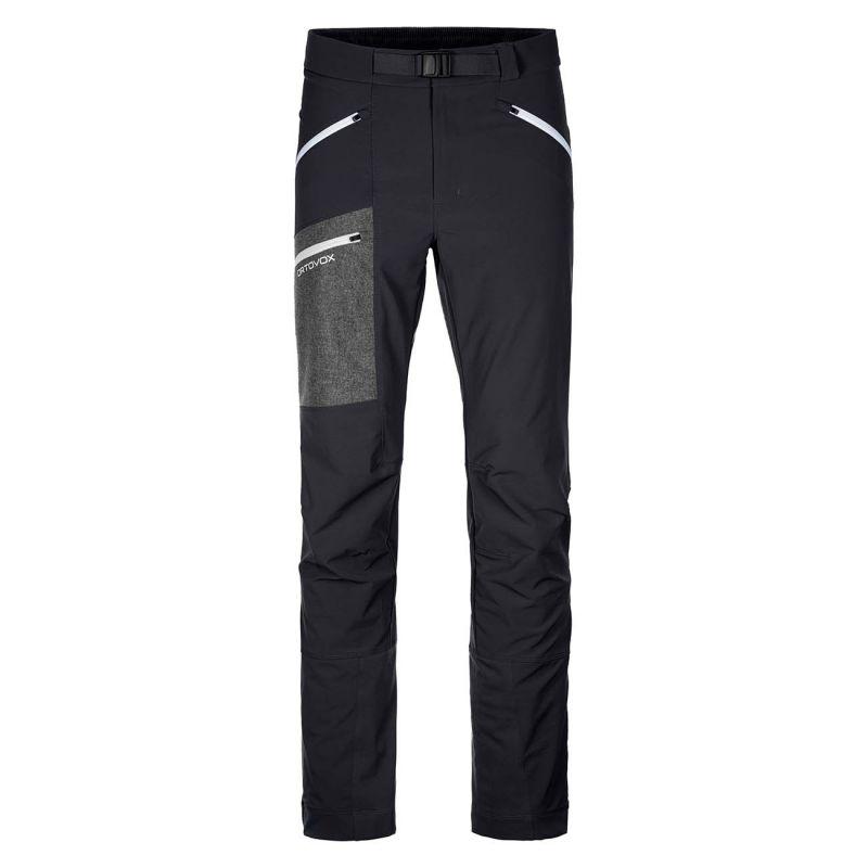 ORTOVOX CEVEDALE PANTS M pánské skialpové kalhoty black raven 20/21