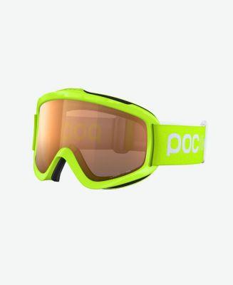 POC POCito IRIS dětské sjezdové brýle fluorescent yellow/green