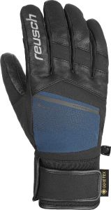 REUSCH BEAT GTX lyžařské rukavice black/dress blue