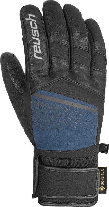 REUSCH BEAT GTX lyžařské rukavice black/dress blue 20/21